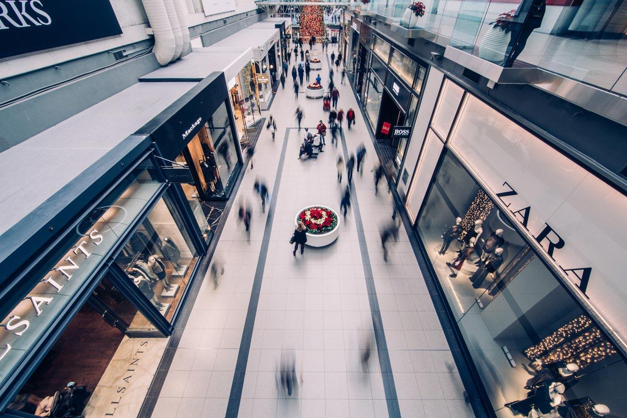 commerce de détail, centre d'achat, solution paiement, paiement centre d'achat,