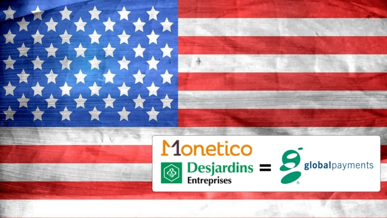 Monetico Desjardins vendue à Global Payments