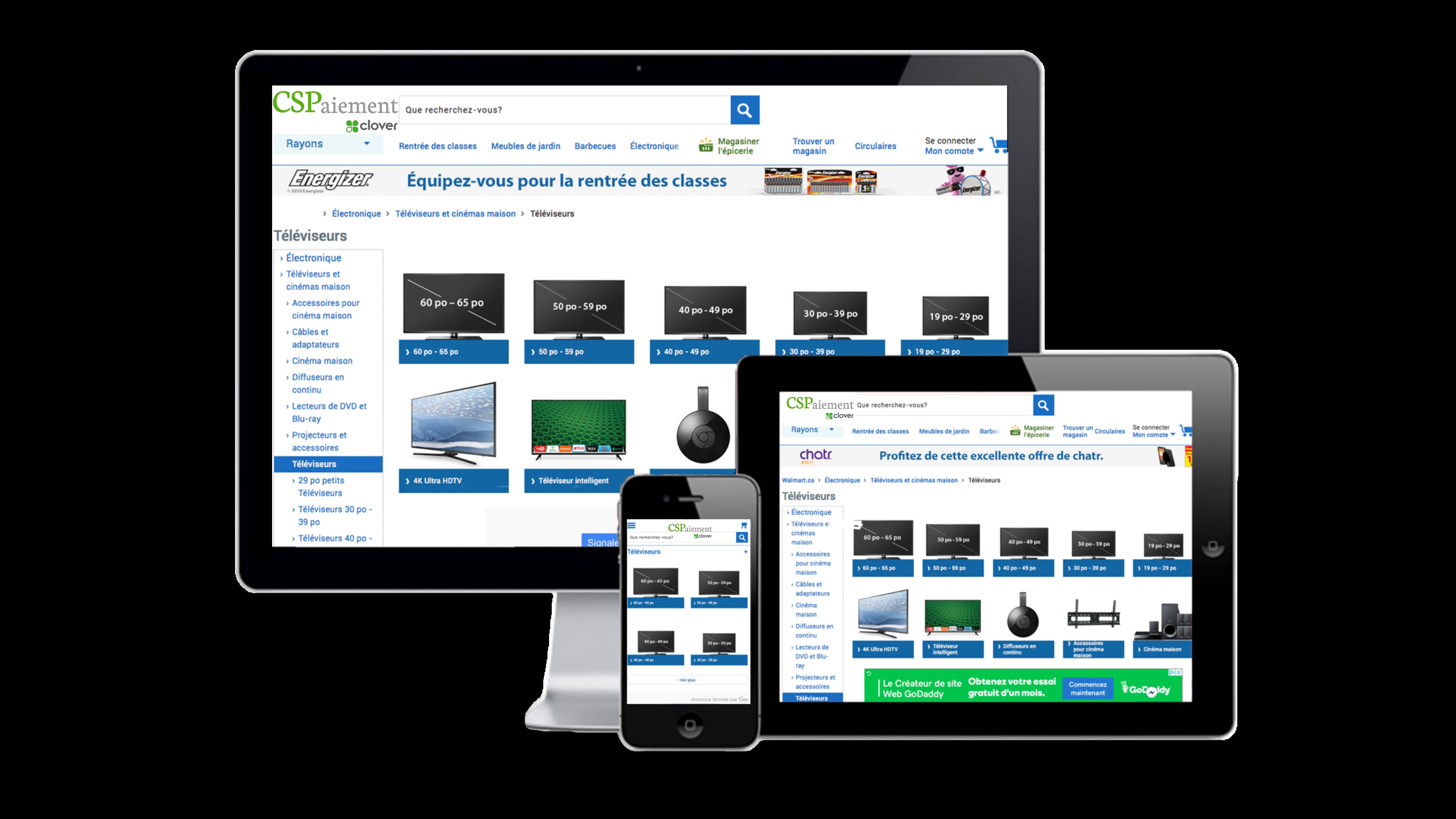 conception site web, agence web, paiement en ligne, e-commerce