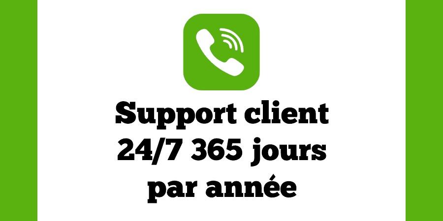 Support Clover, Service client Clover,