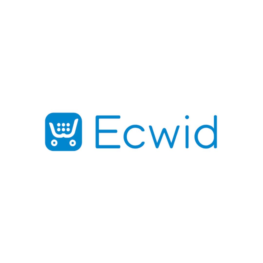 logo Ecwid, Ecwid paiement avec Clover, Ecwird partenaire Clover