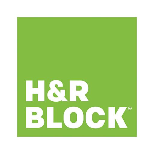 Logo H&R Block, H&R Block payement, H&R Block partenaire CS Paiement,