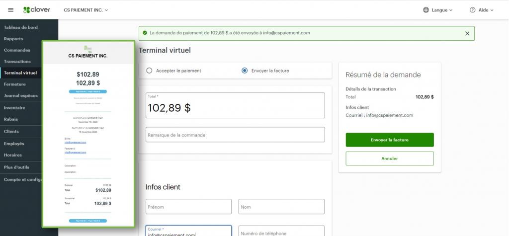 terminal virtuel clover, terminal virtuel de paiement, terminal clover flex, terminal clover mini, terminal virtuel clover flex
